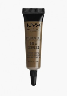 Гель для бровей Nyx Professional Makeup Eyebrow Gel, оттенок 03 Brunette, 10 мл