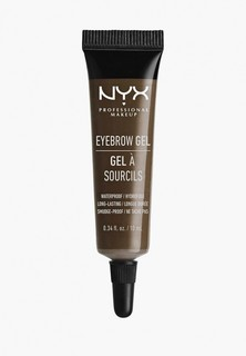 Гель для бровей Nyx Professional Makeup Eyebrow Gel, оттенок 04 Espresso, 10 мл