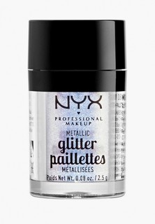 Глиттер Nyx Professional Makeup Metallic Glitter, оттенок 05, Lumi-Lite, 2,5 г