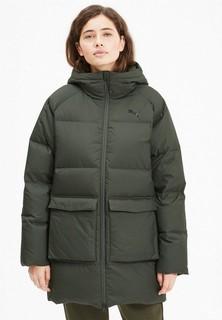 Пуховик PUMA Long Hooded Down Coat