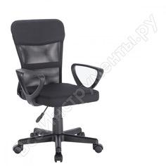Кресло оператора, с подлокотниками, черное, brabix jet mg-315 531839