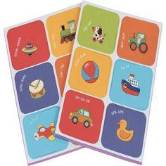 Рамка-вкладыш Айрис-пресс Мягкие игры Цвета и формы