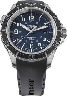 Швейцарские мужские часы в коллекции P67 professional Мужские часы Traser TR_109374