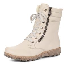 Ботинки Бежевые ботинки на высокой шнуровке Rieker