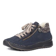 Ботинки Синие ботинки на шнуровке Rieker