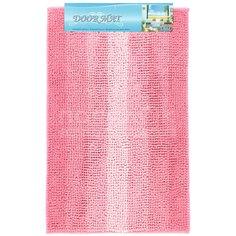 Коврик для ванной и туалета Макарон Y3-845 I.K розовый, 50х80 см