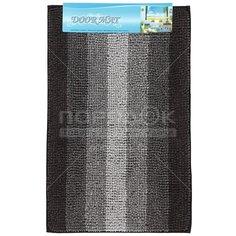 Коврик для ванной и туалета Макарон Y3-849 I.K черный, 50х80 см