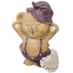 Фигурка декоративная Мишка Доброе утро Y6-2241 I.K, 15 см