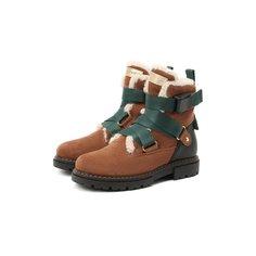 Замшевые ботинки Jarrett