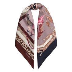 Шелковый платок Heritage Print Salvatore Ferragamo
