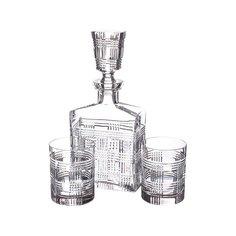Набор из штофа и 4-х стаканов Kirill Tsar