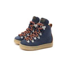 Замшевые ботинки Dsquared2