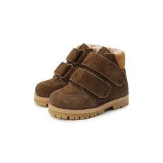 Замшевые ботинки Petit Nord