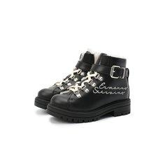 Кожаные ботинки Ermanno Scervino