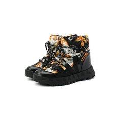Утепленные ботинки Versace