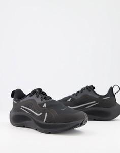 Черные кроссовки Nike Running Air Zoom Pegasus 37 Shield-Черный