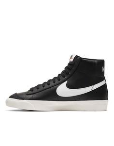 Черные кроссовки Nike Blazer Mid 77 Vintage-Черный