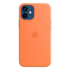 Чехол для смартфона Apple iPhone 12 mini MagSafe, кумкват (MHKN3ZE/A)