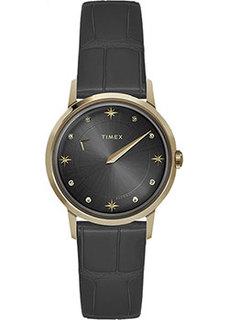 женские часы Timex TW2T86300VN. Коллекция Celestial Opulence Automa