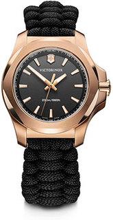 Швейцарские наручные женские часы Victorinox Swiss Army 241880. Коллекция I.N.O.X. V