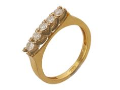 Золотое кольцо 01K663068 Ювелирное изделие