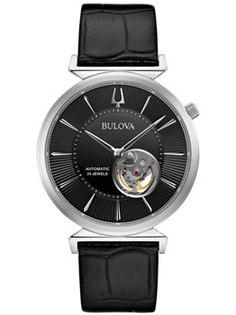 Японские наручные мужские часы Bulova 96A234. Коллекция Automatic