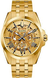 Японские наручные мужские часы Bulova 97A162. Коллекция Sutton