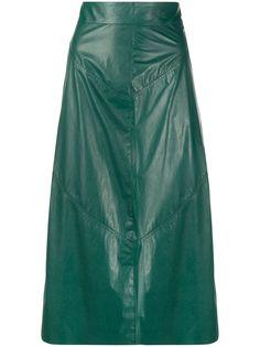 Isabel Marant юбка Domiae A-силуэта