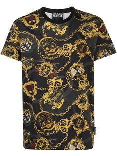 Versace Jeans Couture футболка с короткими рукавами и принтом