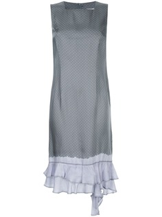 Comme Des Garçons платье в горох с оборками