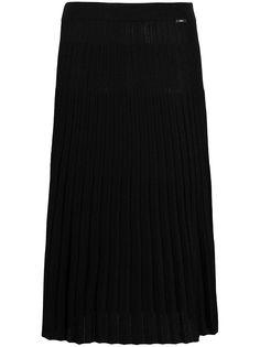 LIU JO плиссированная юбка А-силуэта