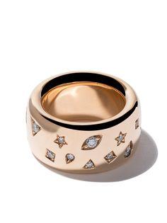 Pomellato кольцо Iconica с бриллиантами