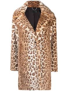 Rag & Bone шуба с леопардовым принтом