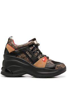 LIU JO ботинки хайкеры с монограммой