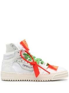 Off-White высокие кроссовки Off-Court 3.0