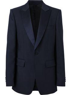 Burberry peak-lapel blazer jacket