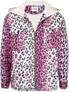 NOON GOONS куртка с капюшоном и леопардовым принтом