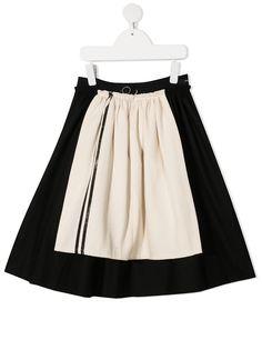 Little Creative Factory Kids юбка с контрастной вставкой