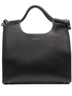 Marni сумка-тоут с логотипом