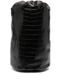 MM6 Maison Margiela рюкзак с тиснением под кожу крокодила