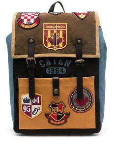 Dsquared2 рюкзак с нашивками