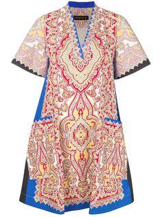 Etro платье с узором