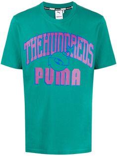 Puma футболка The Hundreds с принтом