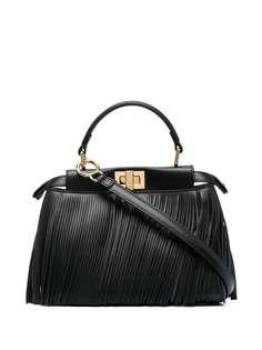 Fendi сумка-тоут Peekaboo Iconic с бахромой
