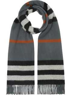 Burberry Icon Stripe fringe scarf