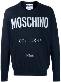 Moschino джемпер с логотипом