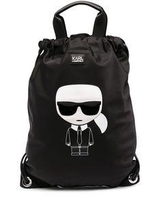 Karl Lagerfeld рюкзак K/Ikonik