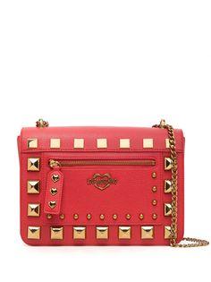 Love Moschino сумка-тоут с заклепками