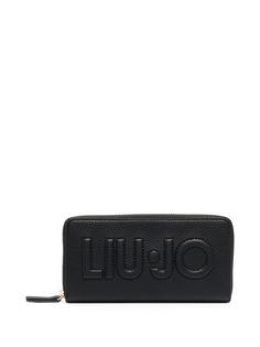LIU JO кошелек на молнии с тисненым логотипом