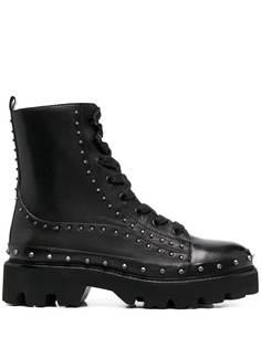 Pinko ботинки в стиле милитари с заклепками